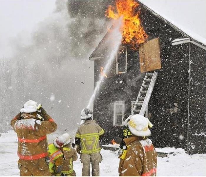 Fire Damage Fires More Likely To Occur In Winter