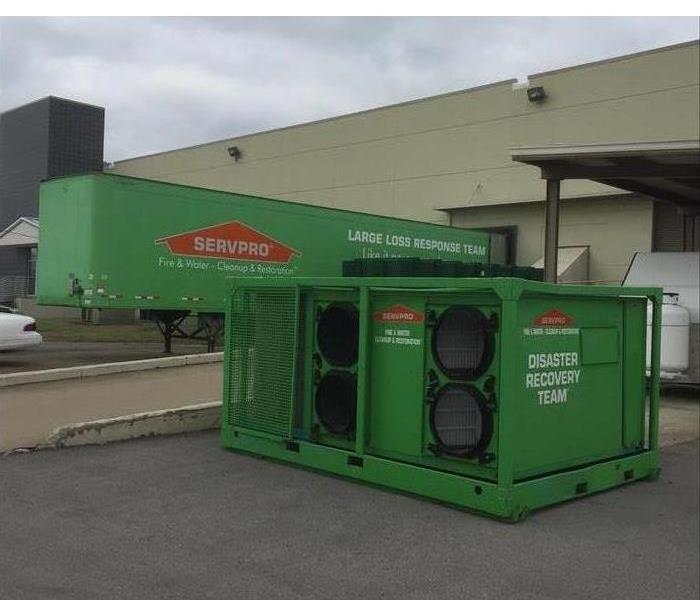 Two Disaster Recovery Large Loss Trailers From SERVPRO