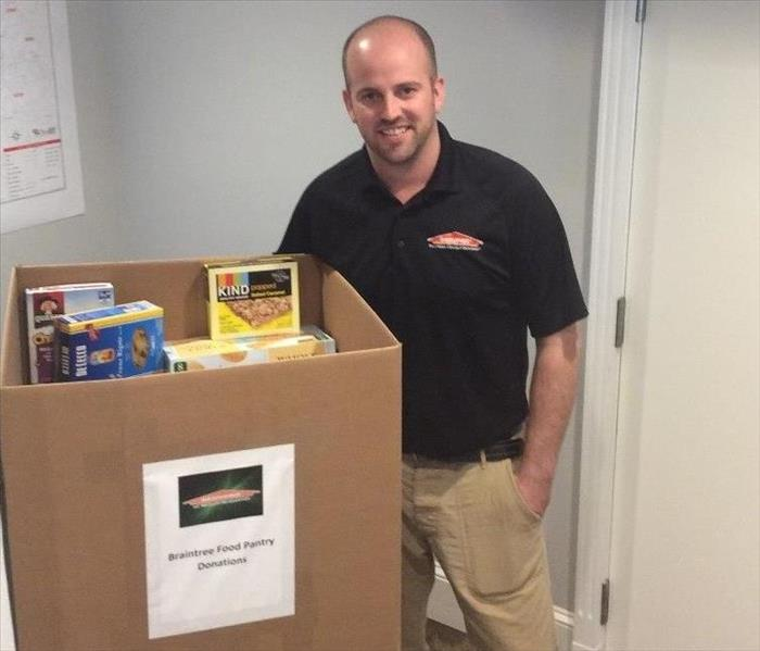 Community Braintree Food Pantry Donation
